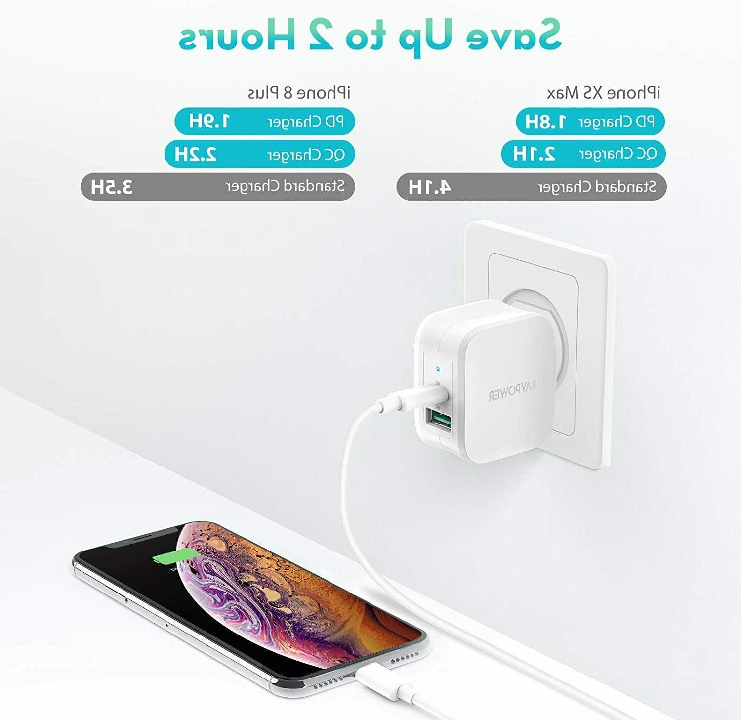 USB Charger 30W Charger 3.0 Fast Charging