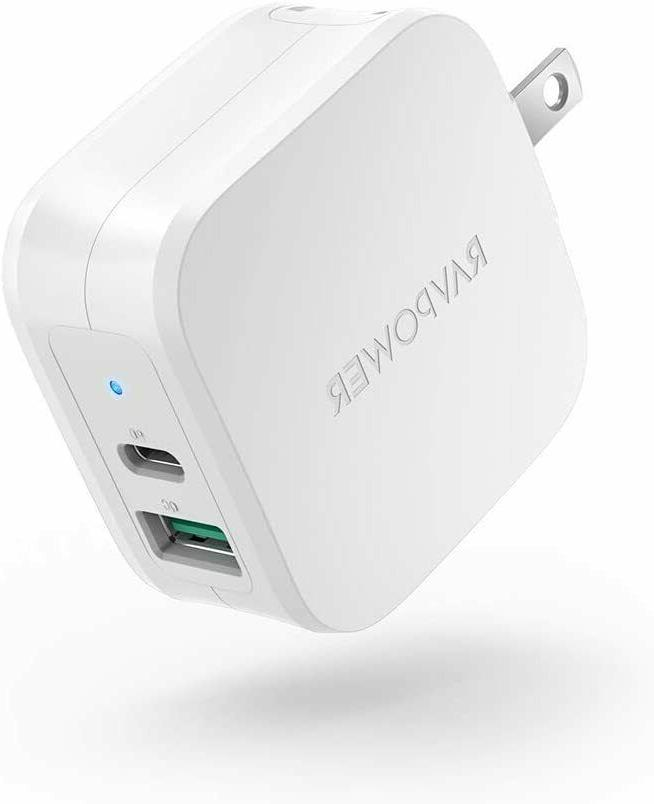 usb c charger 30w 2 ports wall