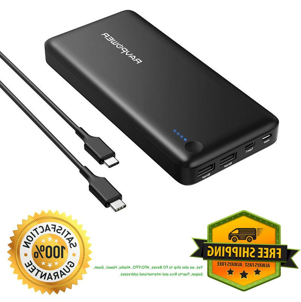 usb c power bank ravpower 26800 pd
