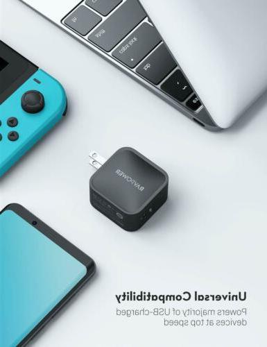 USB C RAVPower 3.0 Type Fast Delivery