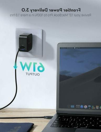 USB Wall RAVPower Type C Fast Delivery Adapter