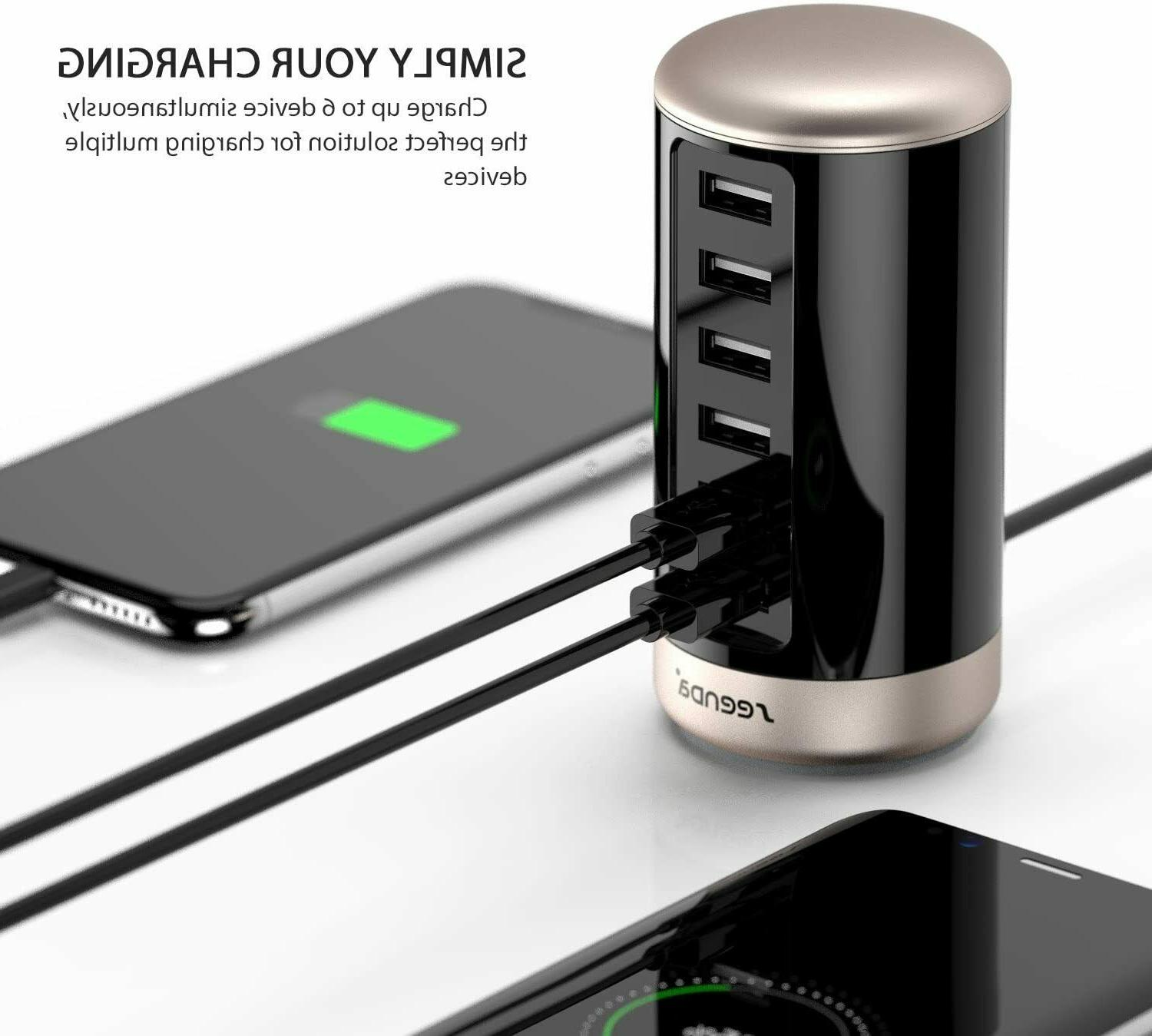 Seenda Charger, Multi Wall Charging Station With Smart Identification
