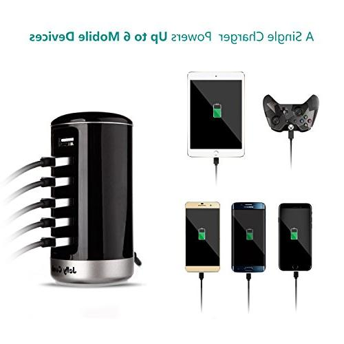 USB Charger, USB Smart Identification iPhone, iPad, Android Virtually All Enabled