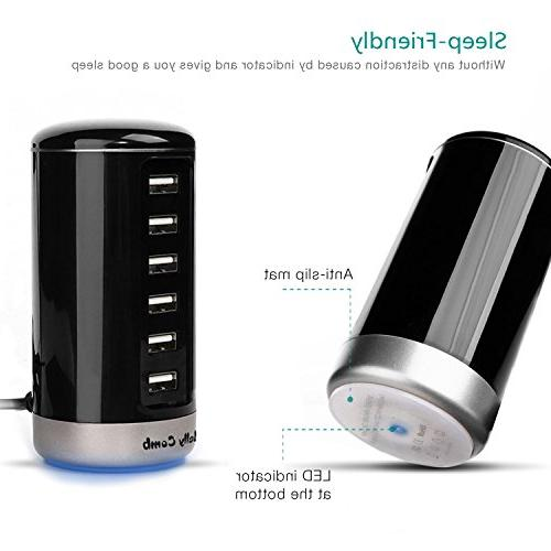 USB Charger, Jelly Universal Ports USB Charging Smart iPhone, Virtually Other USB Enabled
