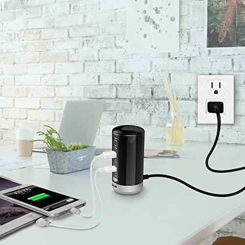 USB Charger, Comb Universal USB Smart iPhone, iPad, Android and Virtually Other Enabled