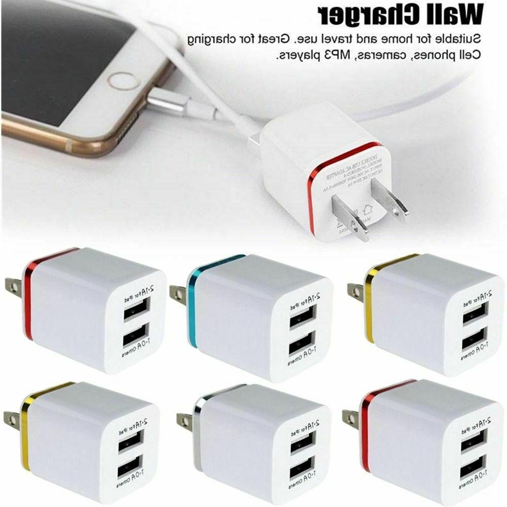 usb double wall fast charger adapter 1a