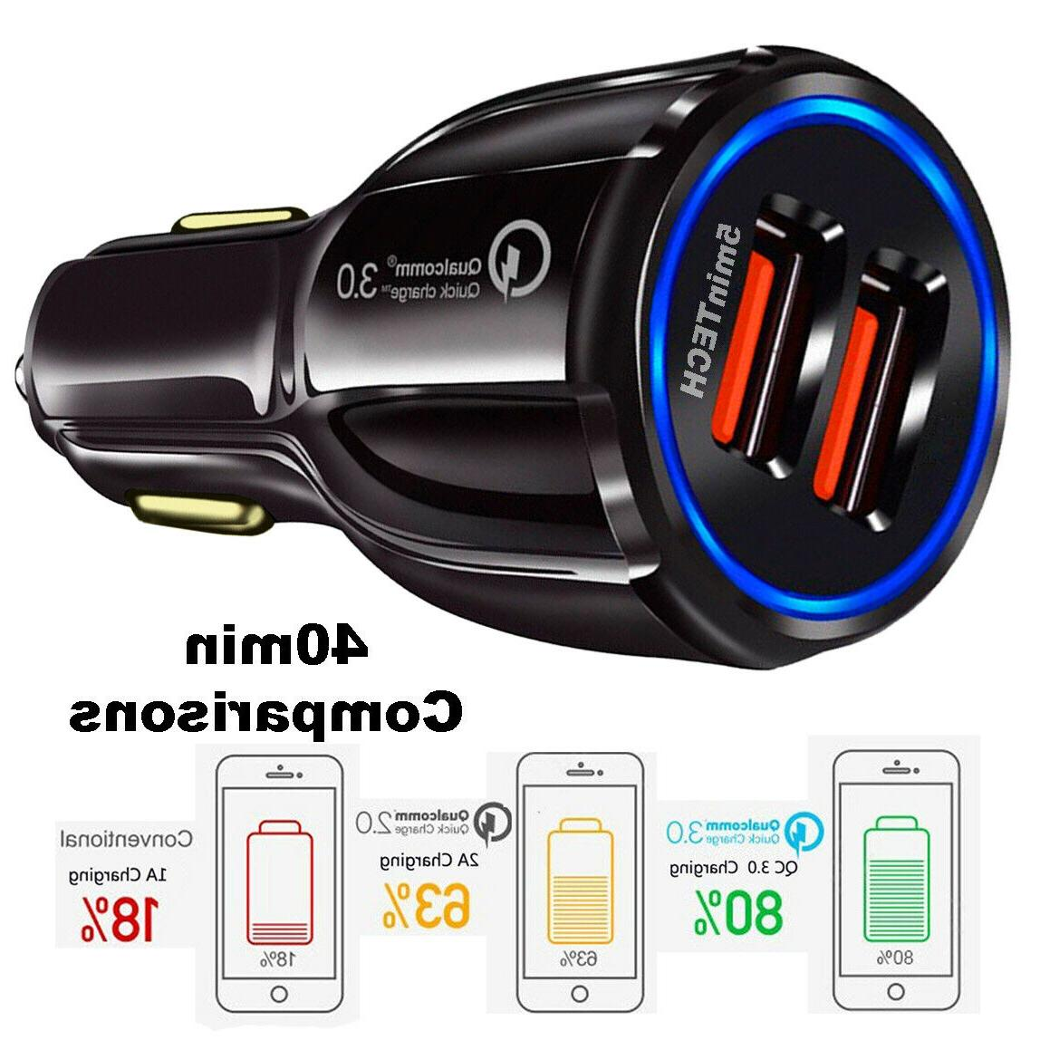 USB Quick CAR Charger Android or iPhone