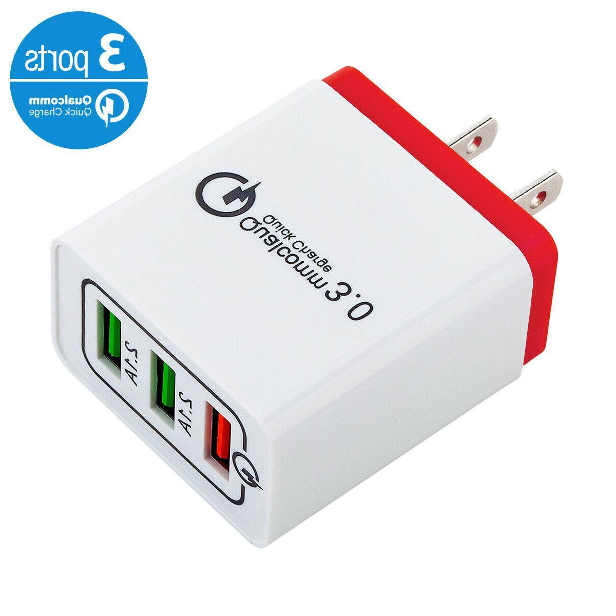 USB Hub Charger Power Adapter Samsung Android