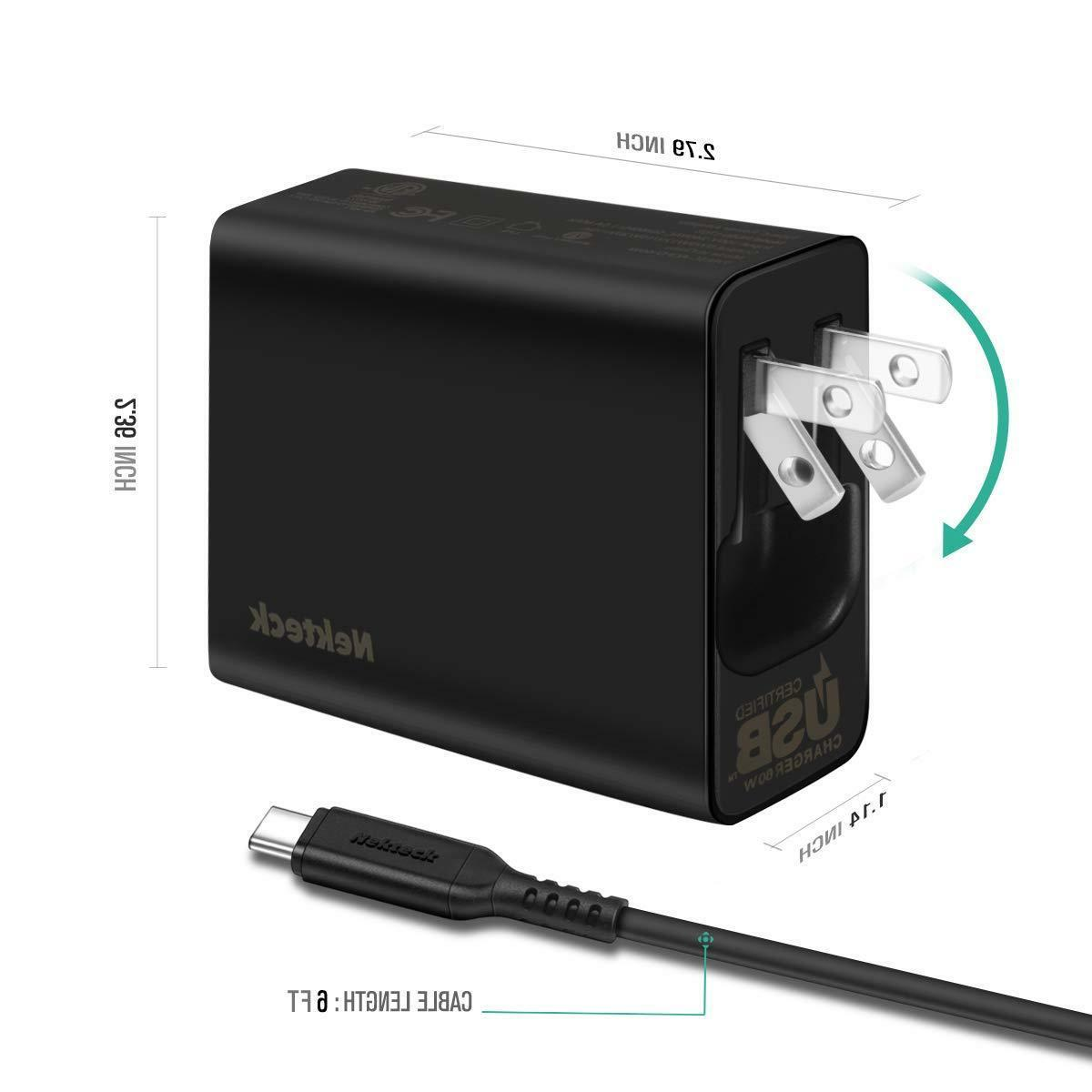 Wall Charger Power Delivery PD3.0 Travel