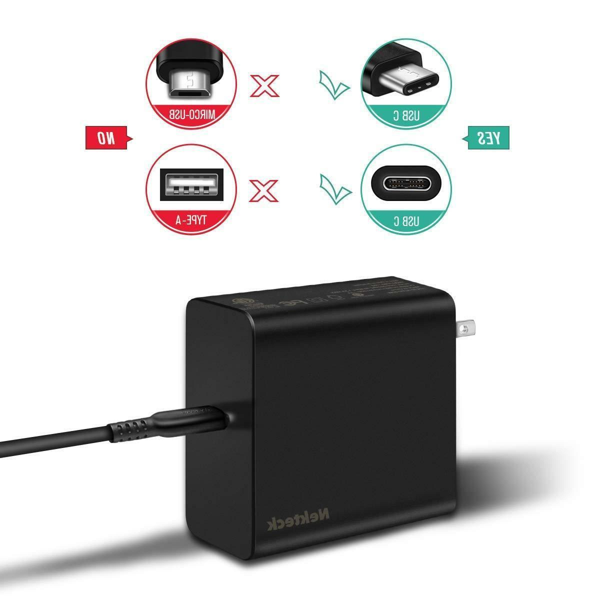 Nekteck 60W Wall Charger PD3.0