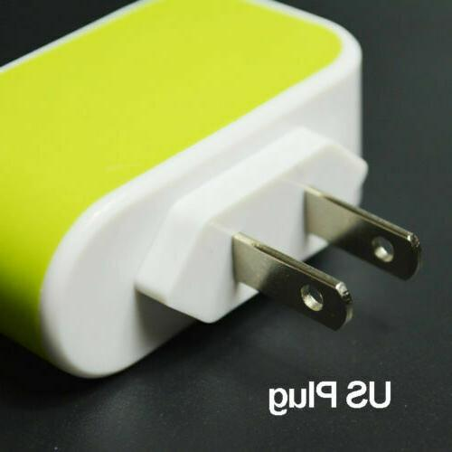 Port Travel Power Adapter Cell Phone