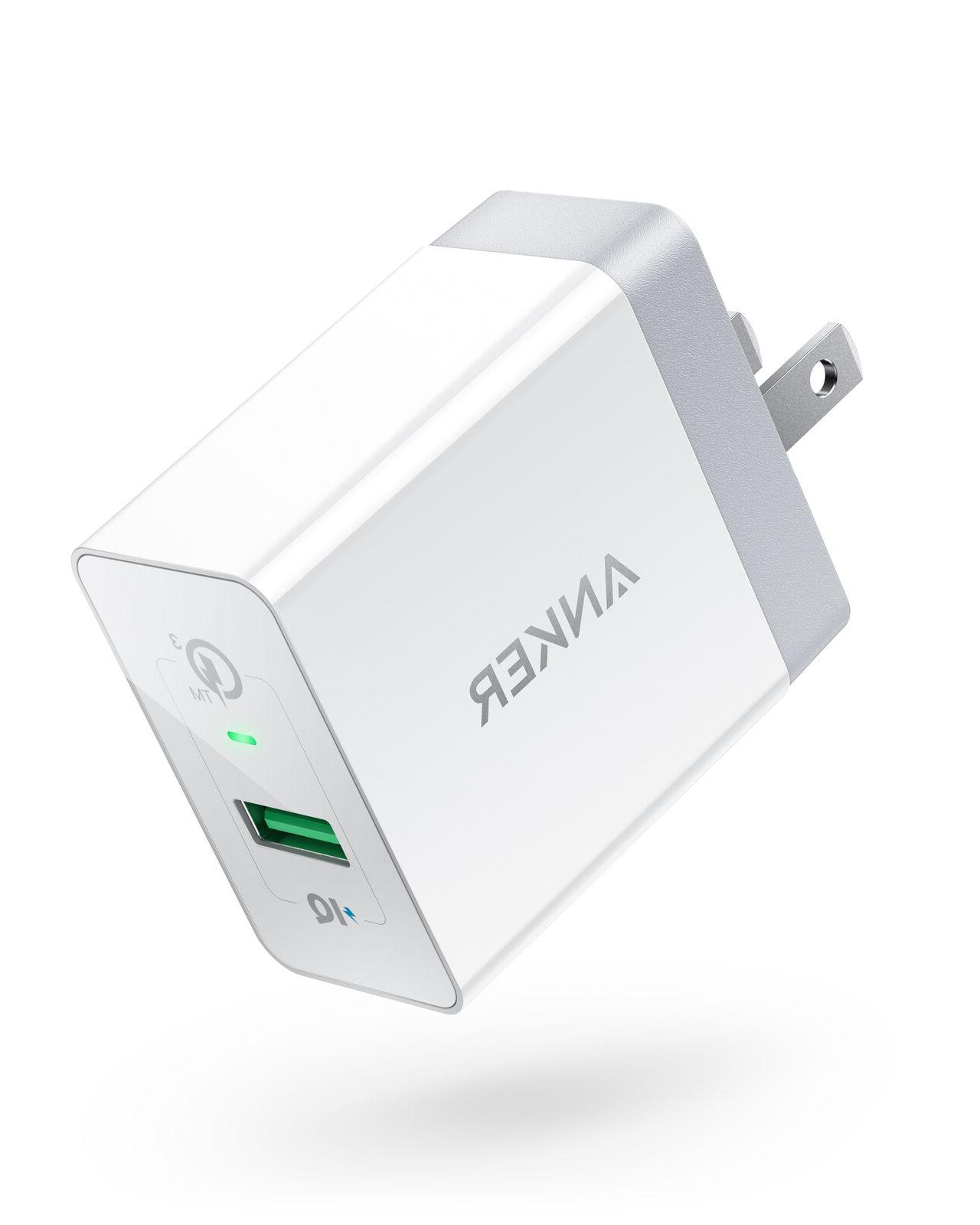 usb wall charger quick charge 3 0