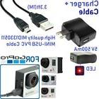 Wall Charger + 3ft MINI USB Cable MID#1330511 for Gopro 3,3+