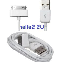 lot 6Ft USB Charger Cable Cord Compatible to charge iPhone 4