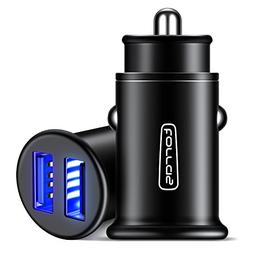 TORRAS All Metal Car Charger, Flush Fit 4.8A Fast Aluminum O