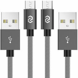 Micro USB Cable Android Charger 3.3ft Durable Nylon Braided