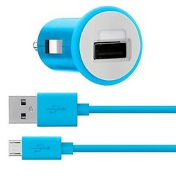 Belkin MiXiT Car Charger + Micro USB Cable, 4 Feet