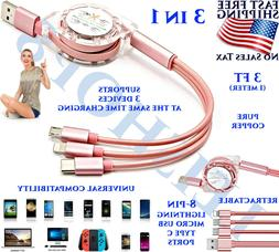 MULTI DEVICE CHARGING CABLE CORD PORT USB CHARGER ANDROID AP
