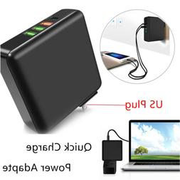 Multi-Port USB Travel Fast Quick Charge 3.0 Power Adapter Wa