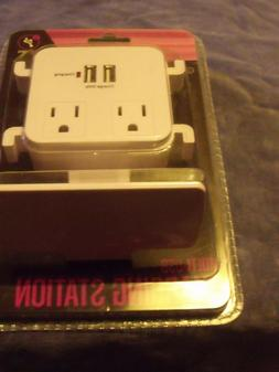 Multi USB Charging Station by Infinitive 2 USB Ports 1 AMP