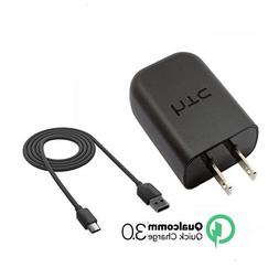 New Quick FAST Charger Rapid Wall Charger + Type C 3.0 Data