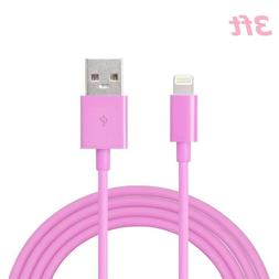 New Round USB Charger Cable Data Cord For iPhone X 7 iPhone