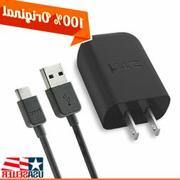 OEM HTC Fast Charger USB Type-C Data Cable Rapid QuickCharge