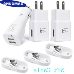 OEM Samsung Galaxy S7 S6 Note 4 5 Fast Charging Dual USB Car