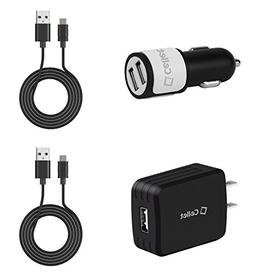 High Power  Dual Port Car Charger, USB Wall Charger with USB