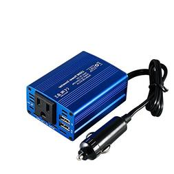 Foval 150W Power Inverter DC 12V to 110V AC Converter with 3