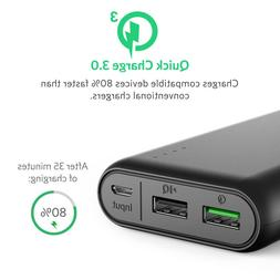 Anker PowerCore 20000 with Quick Charge 3.0 Power Pack Porta