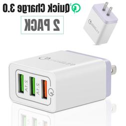 QC 3.0 USB Fast Quick Charge Wall Charger Adapter for Samsun