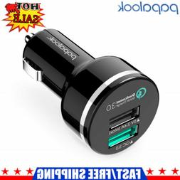 Papalook PC309 Universal Mini Fast Car Charger USB Quick Cha