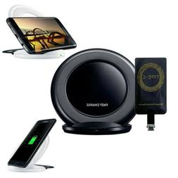QI Wireless Adapter Fast Charger Receiver For Samsung/Androi