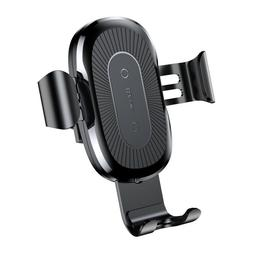 Qi Wireless Car Charger Mount Baseus Gravity Air Vent Phone