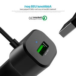 Asiwo Quick Charge 3.0 Fast USB C Car Charger – Type-C Cha