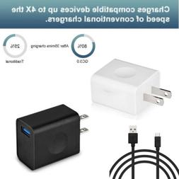 Quick Charge3.0 USB Wall Charger Adapter Fast Charger For An
