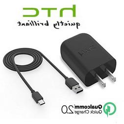 QuickCharge3.0 Rapid Fast Charger+Type C Data Cable for HTC