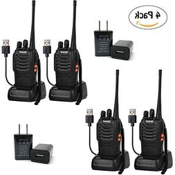Greaval Rechargeable Long Range Walkie Talkies UHF 400-470MH