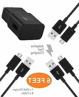 Samsung Galaxy Note 5 Charger  Micro USB 2.0 Cable Kit by Tr