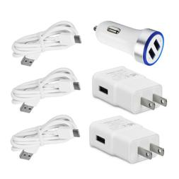 For Samsung Galaxy Note 9 8 S9+ Wall Car Charger Type C Cabl