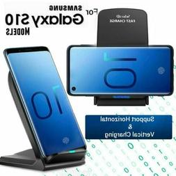 For Samsung Galaxy S8/ S9/ S10+ Plus Qi Wireless Fast Chargi