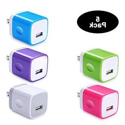 Single Port USB Wall Charger, Charging Block Box Cube NINIBE