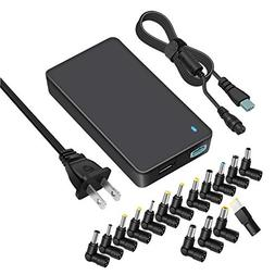 Outtag 90W Universal Laptop Charger 15-20V Power AC Adapter