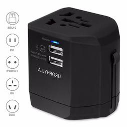 Travel Adapter,Urophylla Universal Adapter and Charger With