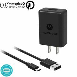 Motorola TurboPower 15 Universal USB Type-C Wall Charger - B