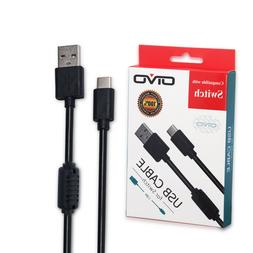 Type C USB Fast Charger Charging 1.8m Cable Cord for Nintend