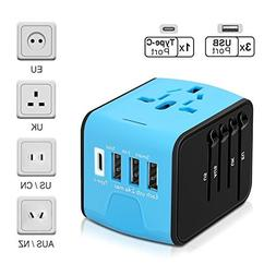 ECOACE Universal Travel Adapter All-in-one International Pow