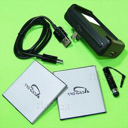 UPGraded AceSoft 3570mAh Battery or Charger Cable for Samsun