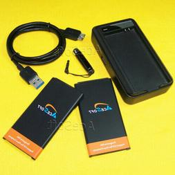 UPGraded AceSoft Battery or USB Charger for Samsung Galaxy S